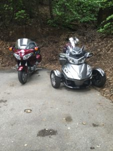 goldwing and spyder