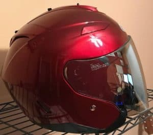 hjc is-33ii motorcycle helmet right side