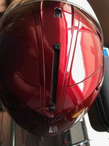 hjc is 33 ii motorcycle helmet top