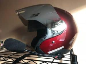 hjc is33 ii helmet left side