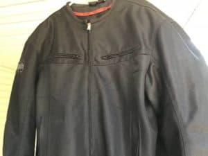 how to dry a textile motorycle jacket
